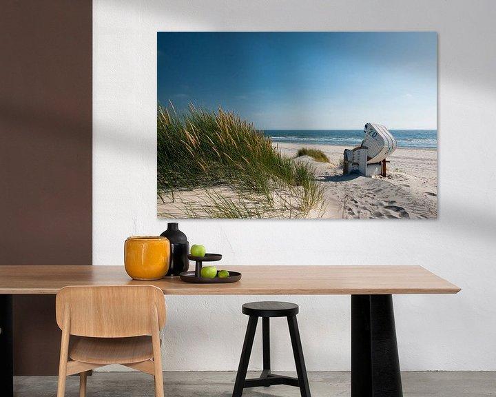 Sfeerimpressie: Noordzee - Duin met stralend Duingras van Reiner Würz / RWFotoArt