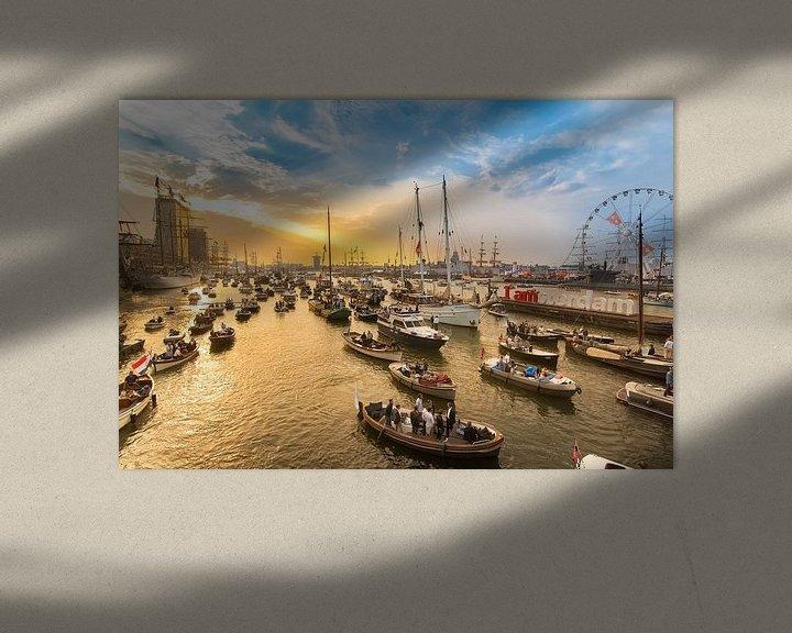 Sfeerimpressie: Sunset at Sail Amsterdam van Jelmer Jeuring