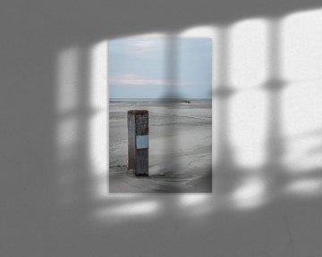 Strandpaal van Jasper Scheffers