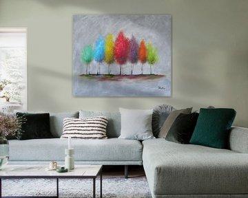 Spring trees von Henrik Moses