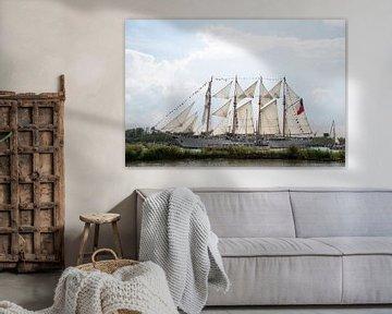 Tallship Esmeralda - Sail Amsterdam von Barbara Brolsma