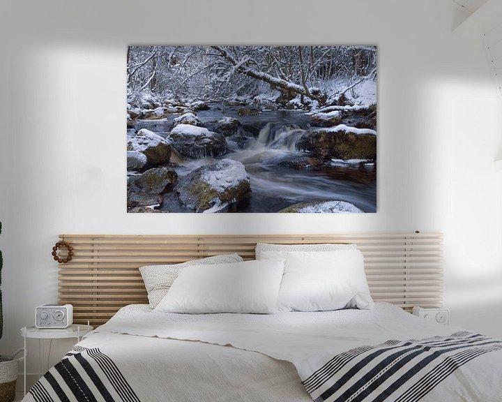 Sfeerimpressie: waterval van de Getzbach van Francois Debets