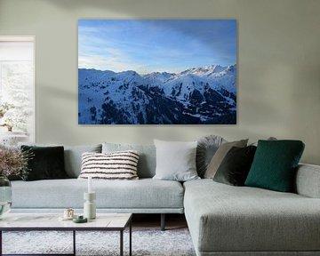 Alpen vanuit de Lucht van Marcel van Duinen