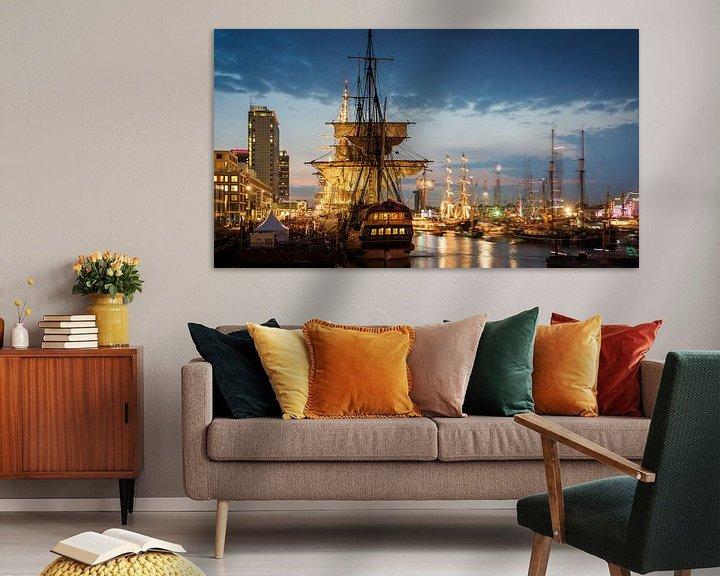 Sfeerimpressie: Sail Amsterdam 2015 van Scott McQuaide
