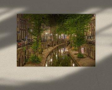 Nieuwegracht in Utrecht in de avond - 4 van Tux Photography