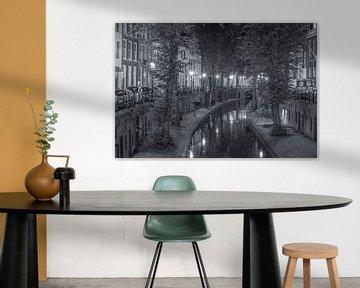 Nieuwegracht in Utrecht in de avond - 3 van Tux Photography