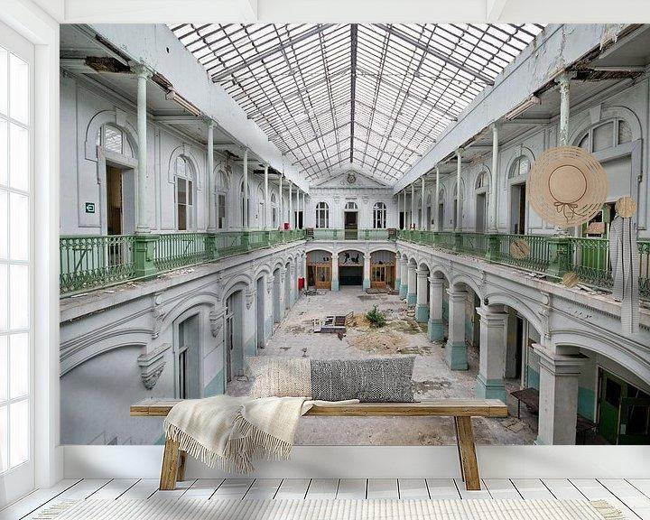 Beispiel fototapete: Die Schule ist aus von Chantal Nederstigt