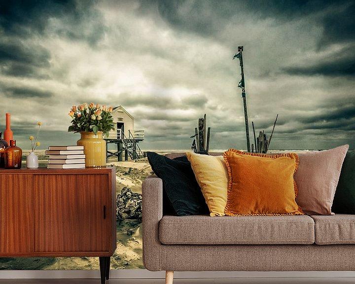 Sfeerimpressie behang: After the Storm van Nanouk el Gamal - Wijchers (Photonook)