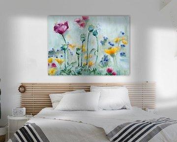 Veldbloemen sur Monique Londema