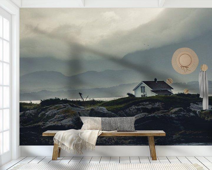 Sfeerimpressie behang: Opklaaring van Lars van 't Hoog
