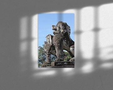Details in Angkor van Levent Weber
