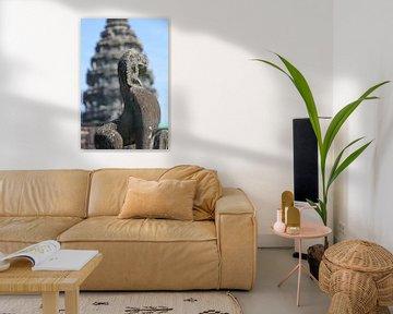 Details in Angkor Wat Temple van Levent Weber
