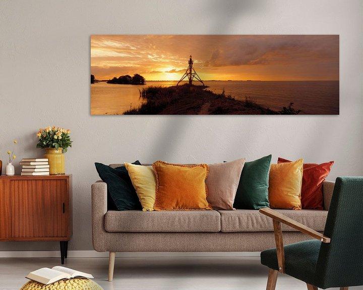 Sfeerimpressie: Hoorn Haven licht van Hans Albers
