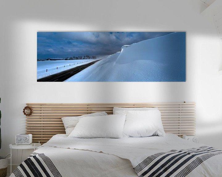 Sfeerimpressie: Sneeuw duin van Hans Albers