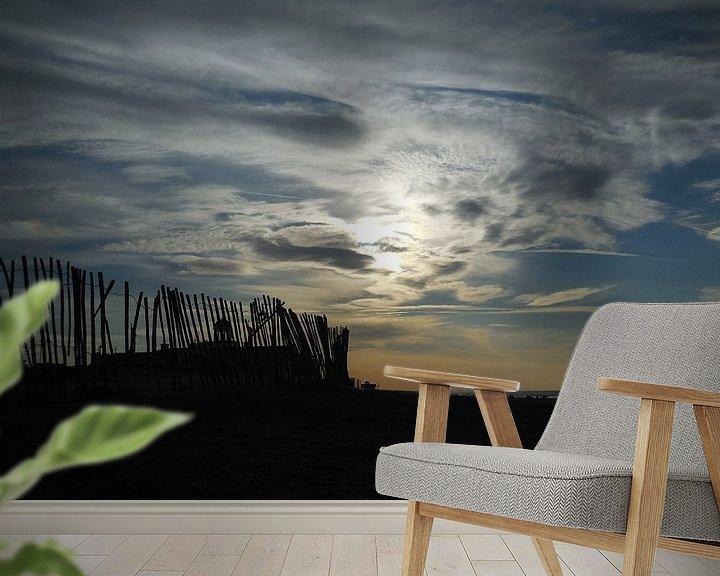 Impression: Rare lucht op het strand sur Dave van den Heuvel