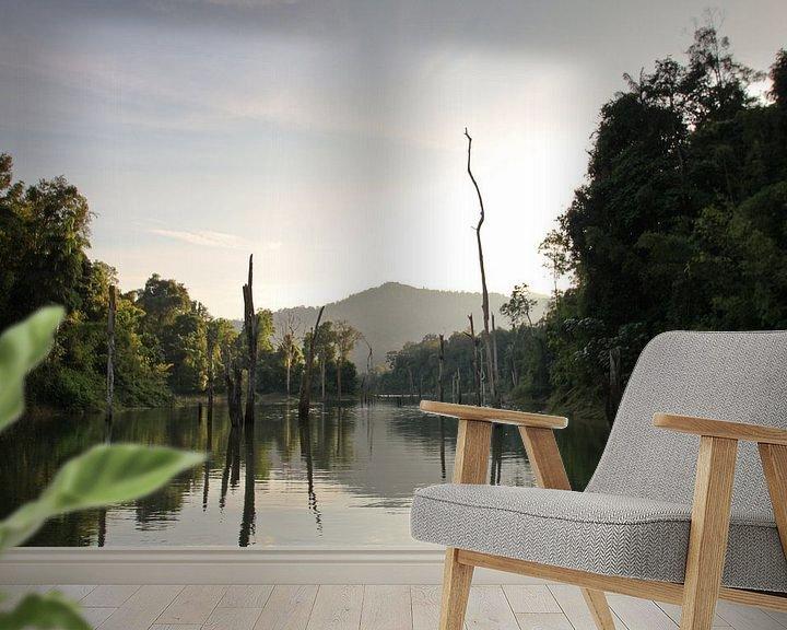Beispiel fototapete: Chiao Lan See im Khao Sok Nationalpark von Levent Weber