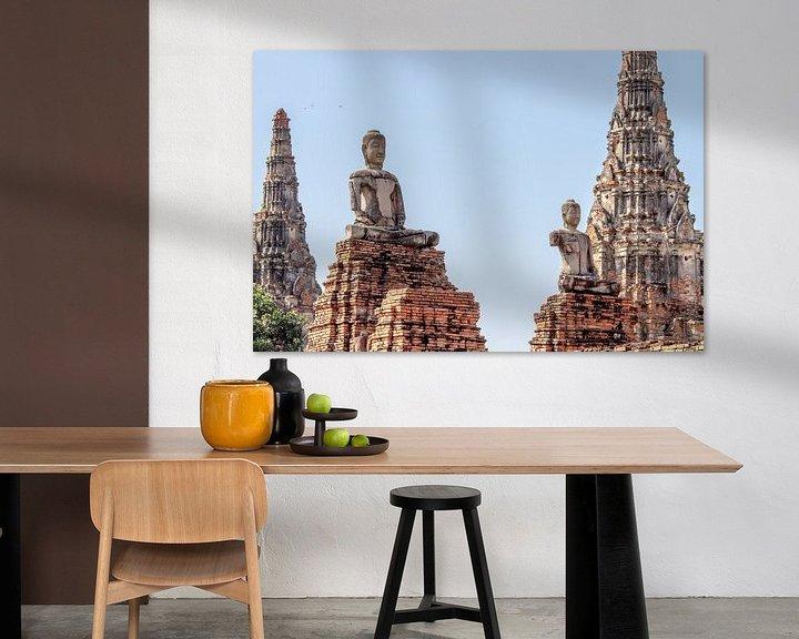 Beispiel: Statuen in Ayutthaya von Levent Weber