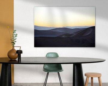 Sunrise in Sossusvlei van Alice Sies