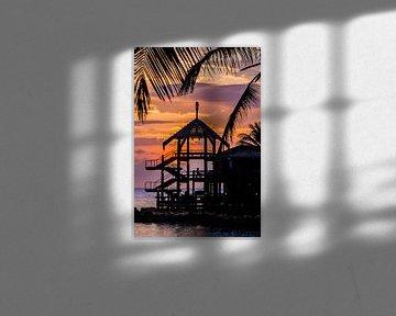Sunset @ Avila van Joke Van Eeghem