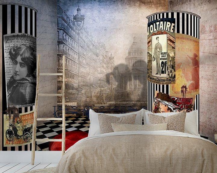Beispiel fototapete: Paris - Stadt der Liebe von Erich Krätschmer