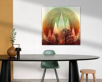 TREES under MAGIC MOUNTAINS I-B von Pia Schneider