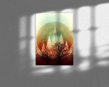 TREES under MAGIC MOUNTAINS I von Pia Schneider