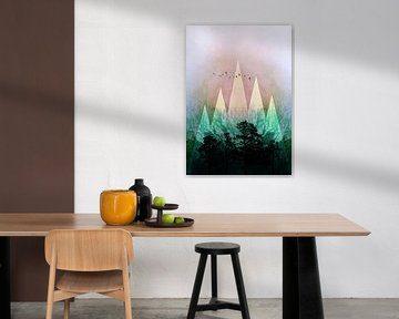 TREES under MAGIC MOUNTAINS IV von Pia Schneider