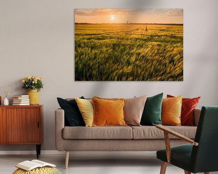 Sfeerimpressie: Zonsondergang  van Albert van der Spaan