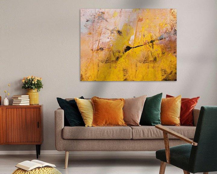 Beispiel: The little yellow flower von Gabi Hampe