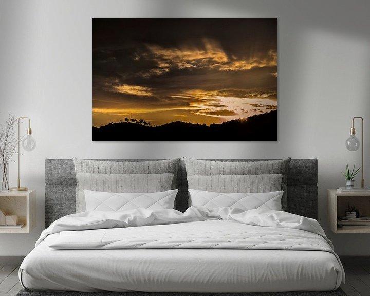 Sfeerimpressie: gouden zonsondergang van Anouschka Hendriks