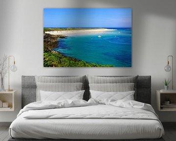 Shell Beach auf der Kanalinsel Herm von Gisela Scheffbuch