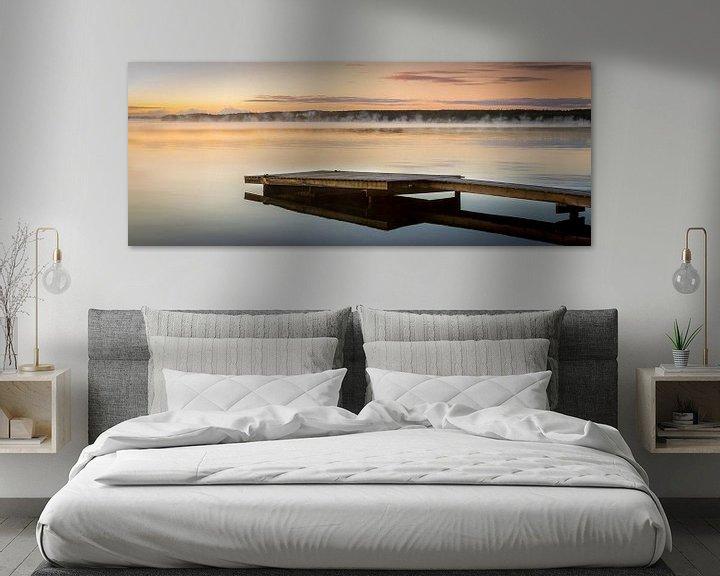 Sfeerimpressie: Vroege zonsopgang in Zweden van Hamperium Photography