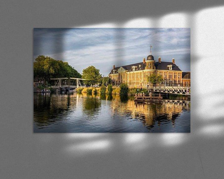 Beispiel: Rijksmunt, Utrecht (Sonnenuntergang) von John Verbruggen