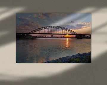 Sunset Waalbrug Nijmegen