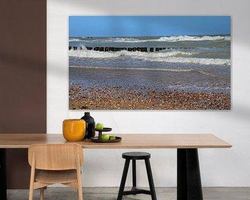 Strand Domburg van Jessica Berendsen