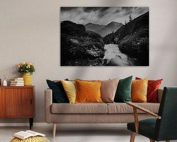 Stream in the Lasörling Alps van Mark van Hattem