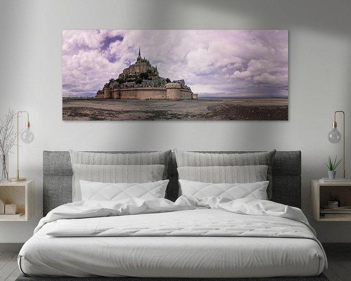 Sfeerimpressie: Mont Saint-Michel  van Boas  van den Berg