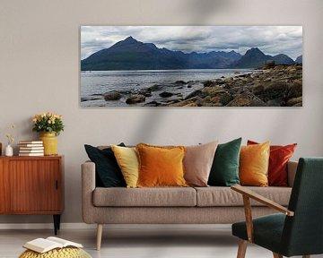 Cuillin Hills vanaf Elgol, Isle of Skye van Jeroen van Deel