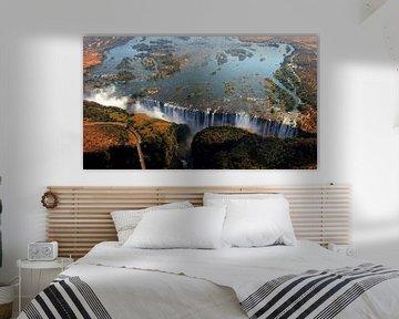 Victoria Falls Zambia van Manuel Schulz