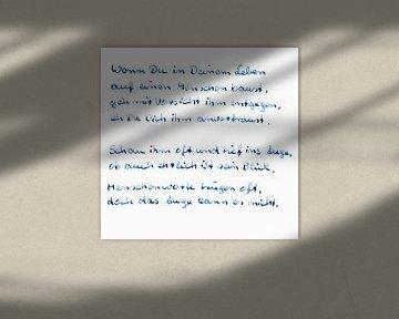 Rencontres - pensées sur Norbert Sülzner