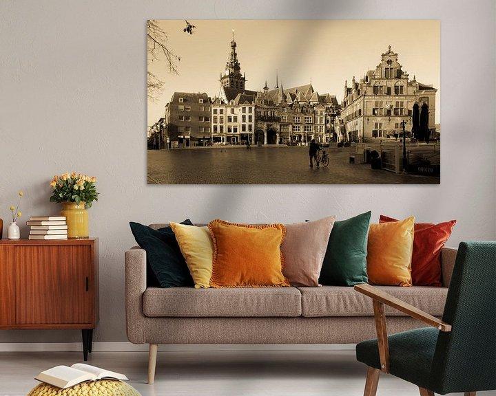 Sfeerimpressie: Waagplein Nijmegen klassiek beeld van Tessa Louwerens