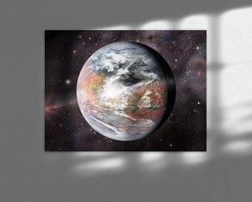 Kleurrijk Mars van Frans Blok