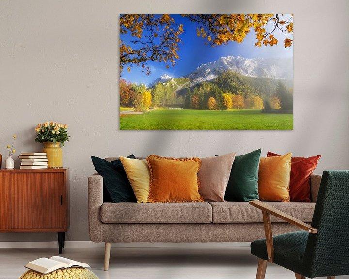 Sfeerimpressie: Herfstvol kleuren in de bergen van Coen Weesjes
