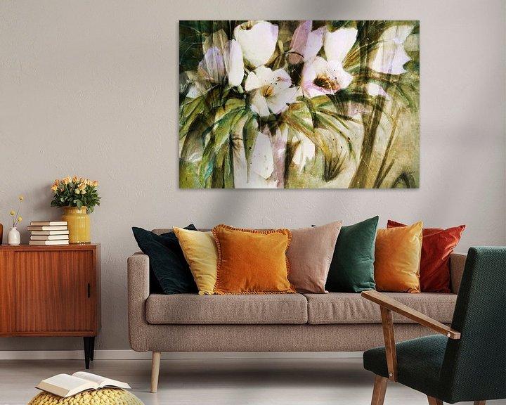 Impression: Tulipes blanches - résumé sur Christine Nöhmeier