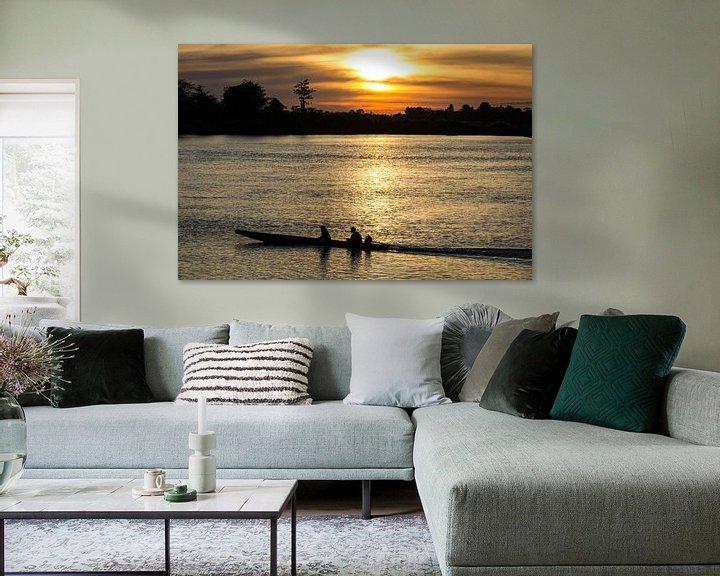 Beispiel: Wundervoller Sonnenuntergang auf Don Det von Levent Weber