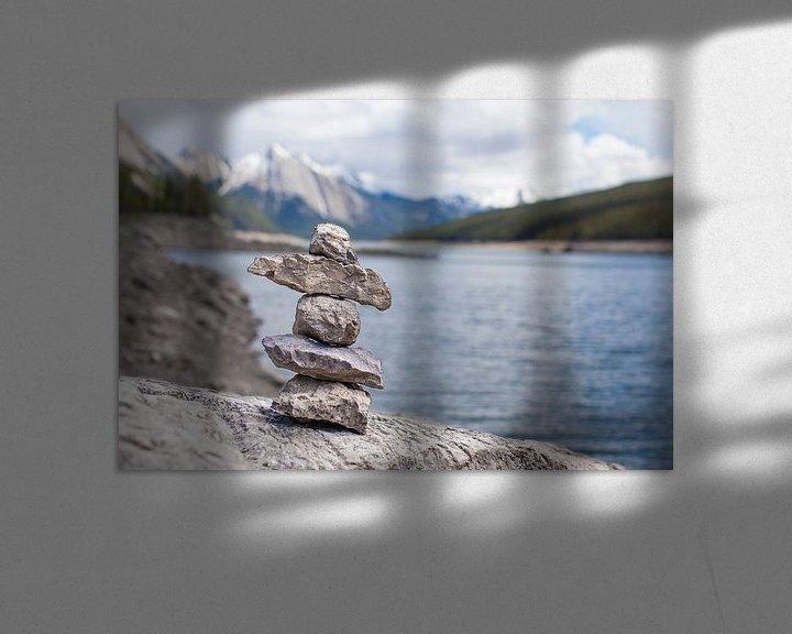 Sfeerimpressie: Inuksuk van DuFrank Images