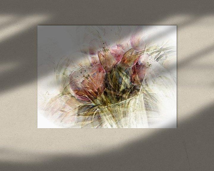 Sfeerimpressie: Roze tulpen van Christine Nöhmeier