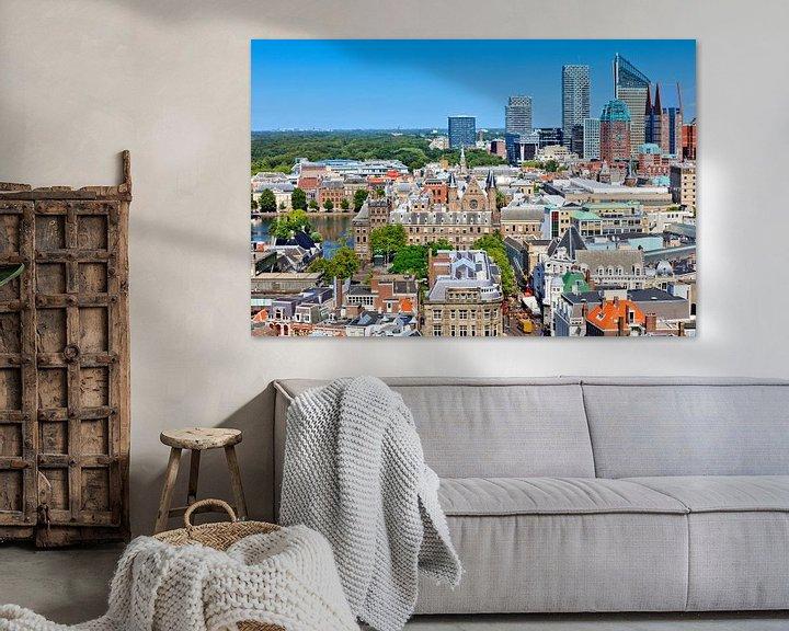 Sfeerimpressie: skyline van Den Haag van gaps photography