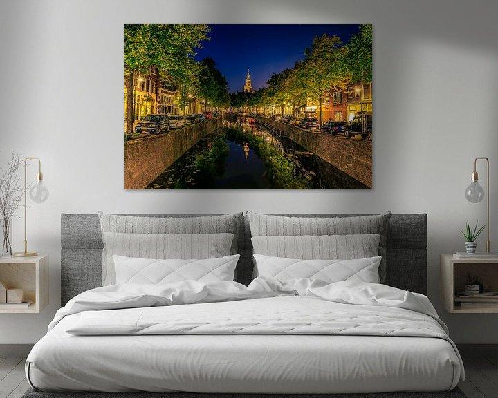Sfeerimpressie: West en Oosthaven Gouda van Michael van der Burg