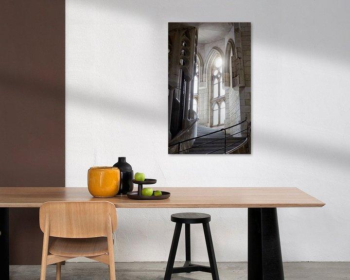 Sfeerimpressie: sagrada Famillia trap van Giovanni de Deugd